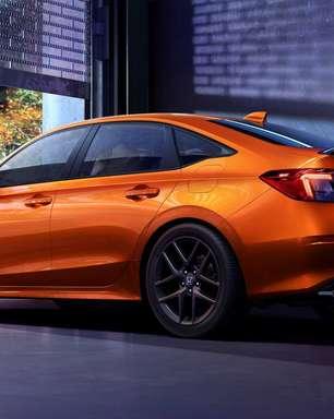 Novo Honda Civic Si é sedã 4 portas e só tem câmbio manual