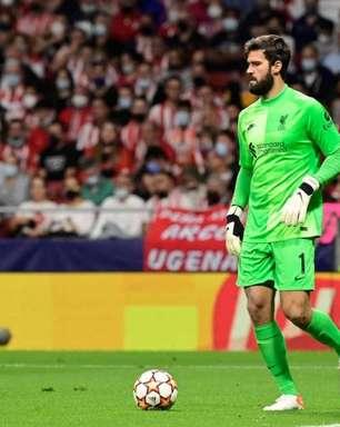 Alisson celebra vitória do Liverpool sobre o Atlético de Madrid e 100% de aproveitamento na Champions