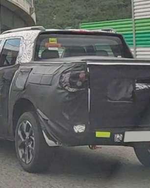 Nova Chevrolet Montana é flagrada em testes na Coreia