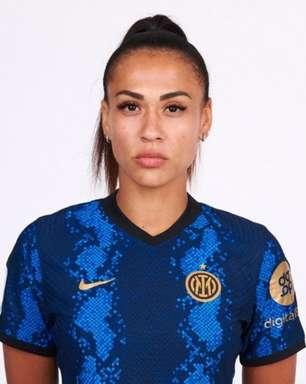 Kathellen Souza é a primeira brasileira a atuar pela Inter de Milão: 'Gratidão imensa'