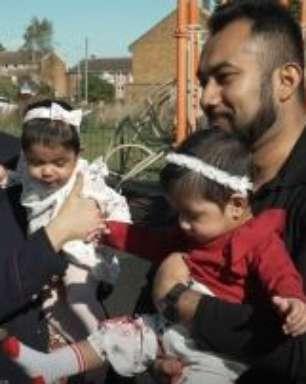 'Dei à luz minhas gêmeas quando estava em coma com covid'