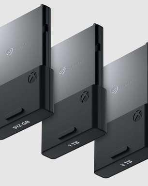 Xbox Series X|S terá SSDs de 512 GB e 2 TB oficiais da Seagate