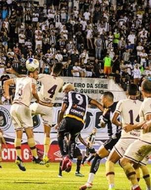 Em jogo movimentado, ABC elimina o Jacuipense e avança na Pré-Copa do Nordeste