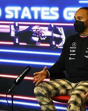 """Hamilton minimiza relação pessoal com Verstappen: """"Não ando com ninguém aqui"""""""