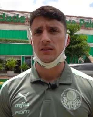 """PALMEIRAS: Piquerez destaca as dificuldades externas no confronto contra o Ceará e comemora vitória no Castelão: """"Nos dá mais confiança"""""""