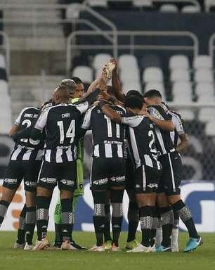 Com salários atrasados, jogadores do Botafogo adotam lei do silêncio