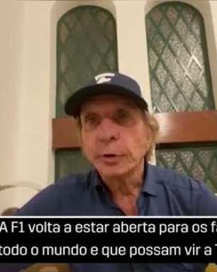 """F1: Emerson Fittipaldi comemora volta do público no GP de Austin: """"Vai ser muito interessante"""""""