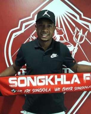 Em alta no Songkhla, Natan Oliveira marca gol de placa e garante vitória da equipe na Tailândia