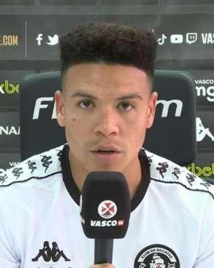 Marquinhos Gabriel cita evolução do Vasco e projeta duelo com o Náutico: 'Na nossa cabeça só tem o acesso'
