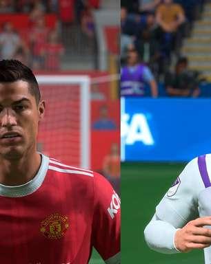 Comparamos os jogadores de FIFA 22 com os atletas reais