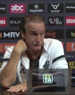 """ATLÉTICO-MG: Cuca valoriza 'boa vantagem' ao golear o Fortaleza, mas pede humildade para jogo de volta: """"Temos que tomar cuidado em todos os sentidos"""""""