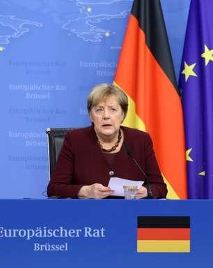 Merkel tem despedida calorosa em sua 107ª cúpula da União Europeia