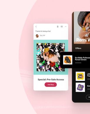 Spotify: Artistas agora podem vender na plataforma