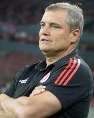 Aguirre não esconde a tristeza após empate do Internacional