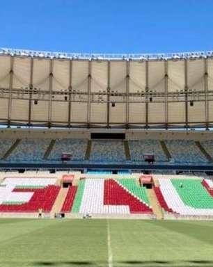 Fluminense divulga mosaico para partida contra o Flamengo