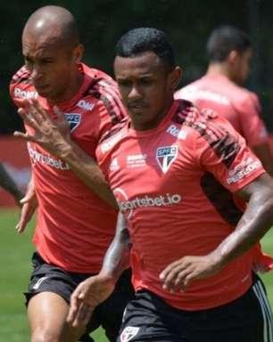 São Paulo encerra a preparação para enfrentar o Red Bull Bragantino, pelo Campeonato Brasileiro