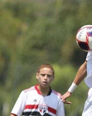 Sub-15 e Sub-17 do São Paulo se classificam em primeiro lugar de seus grupos no Campeonato Paulista