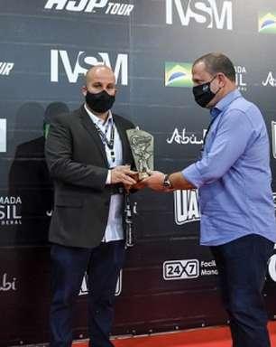 Autoridades brasileiras prestigiam segundo dia de competições do Abu Dhabi Grand Slam Rio