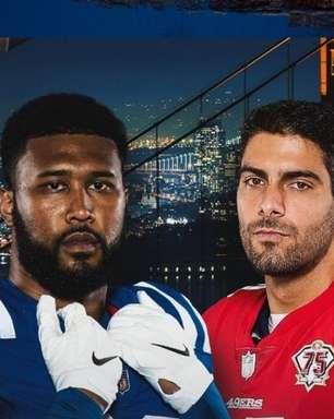 49ers e Colts se encontram no horário nobre por reabilitação na temporada; onde ver e aposta