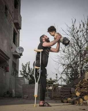 Foto premiada na Itália retrata cicatrizes da guerra na Síria