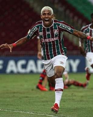 John Kennedy e Luiz Henrique celebram vitória em clássico contra o Flamengo: 'Aqui é Fluminense'