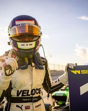 Chadwick domina corrida 2 nos EUA, vence de novo e fatura bicampeonato da W Series