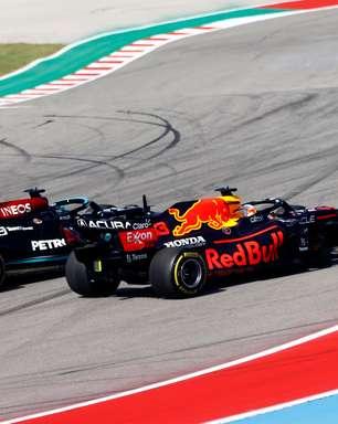 """Mercedes relativiza revés e diz que 2º de Hamilton nos EUA é """"melhor do que imaginava"""""""