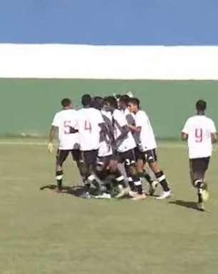 Meninos da Colina: Vasco vence o Macaé pela Taça Guanabara Sub-15