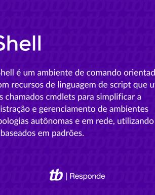 O que é o PowerShell do Windows?