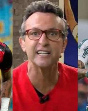 Flamengo ou Palmeiras? Neto crava campeão da Libertadores: 'Mudei minha opinião'