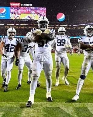 Colts sobrevivem ao dilúvio e batem os Niners dentro do Levi's Stadium