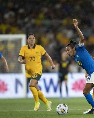 Austrália x Brasil: onde assistir, horário e escalações do amistoso da Seleção feminina