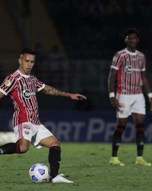 Após um mês, Igor Vinícius retorna ao São Paulo; veja estatísticas do lateral contra o Red Bull Bragantino