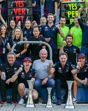 """Red Bull atribui vitória a """"desempenho fenomenal"""" de Verstappen no GP dos EUA"""
