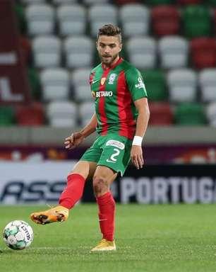 Ex-Vasco, Claudio Winck celebra bom momento e titularidade no Marítimo após um ano em Portugal