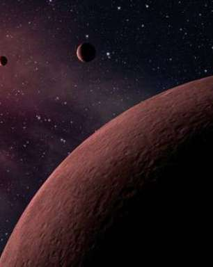 Estudo relata primeiros sinais de planeta fora da Via Láctea
