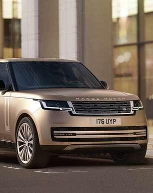 Range Rover ganha nova geração e será elétrico em 2024