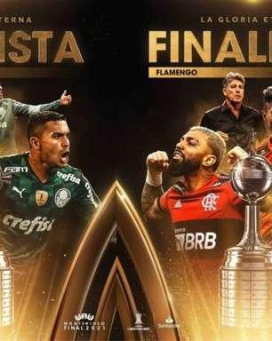 Problemas, soluções e expectativas: como estão Palmeiras e Flamengo a um mês da decisão da Libertadores?