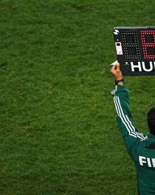 Fifa e Ifab liberam, permanentemente, regra das cinco substituições
