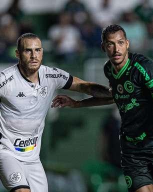 Ruim para os dois: Goiás e Botafogo empatam na Série B