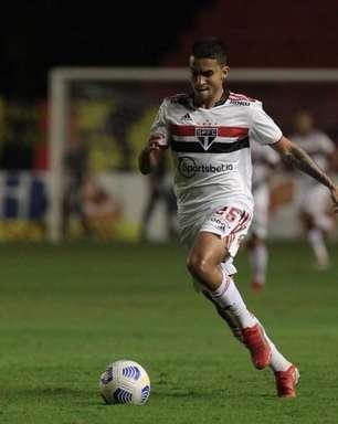 Com dores no tornozelo, Rodrigo Nestor vira dúvida no São Paulo