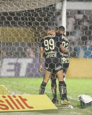 Tardelli desabafa após primeiro gol pelo Santos: 'Posso provar em campo'