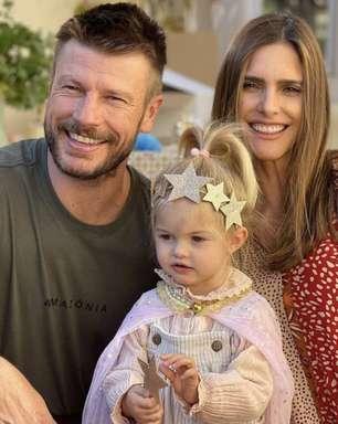 Fernanda Lima e Rodrigo Hilbert comemoram aniversário da filha mais nova
