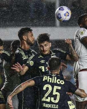 Fluminense não repete intensidade do clássico, vai mal contra o Santos e perde chance de entrar no G6