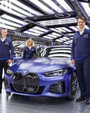 BMW inicia produção do i4 e planeja Série 3 elétrico