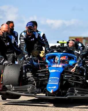"""Alpine F1, sobre GP dos EUA: """"Foi um dia para esquecer"""""""