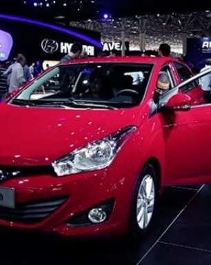HB20 da Hyundai faz sucesso no Salão