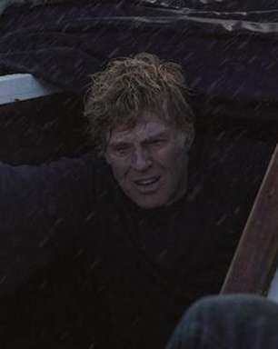 Redford vive velejador sozinho em alto mar em Até o Fim