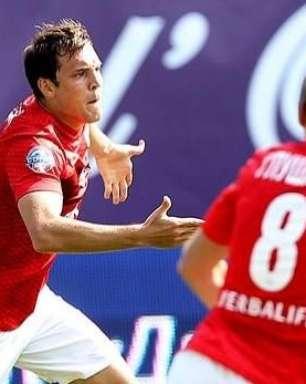 Veja os gols de Dínamo Moscou 1 x 2 Spartak pelo Russo