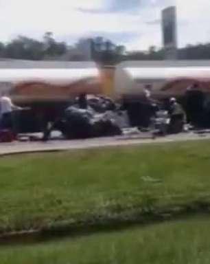 vc repórter: acidente mata 2 e fere 1 na Castello Branco